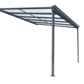 Kingston 10x10 Lean To Carport Patio Cover Right Side