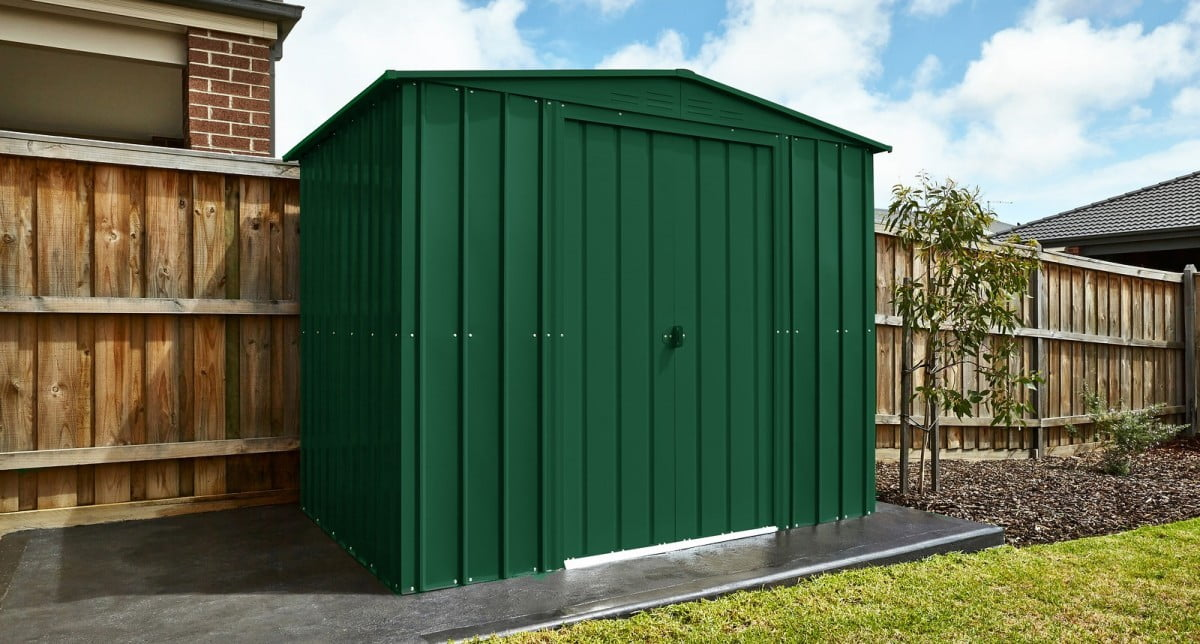 The Lotus Metal Shed: One of the Stars of our Show! - SM Garden Sheds