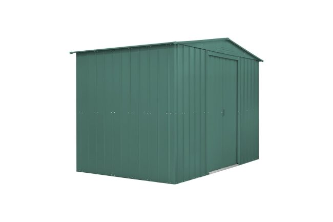 Lotus 10' x 12' Metal Shed Heritage Green Solid